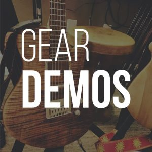 Music gear demos from Chris Cooper Music and Blue Collar Shred